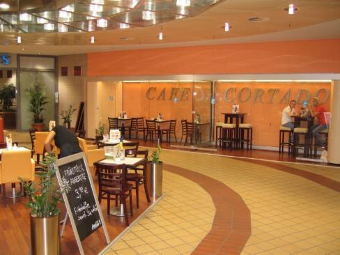 Raucherkabine 12 für das Cafe Cortado