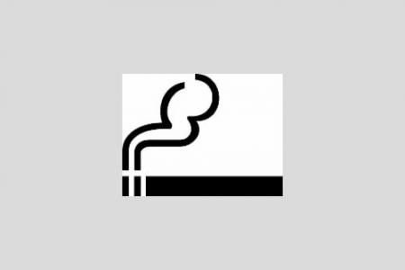 Aufkleber Raucherbereich