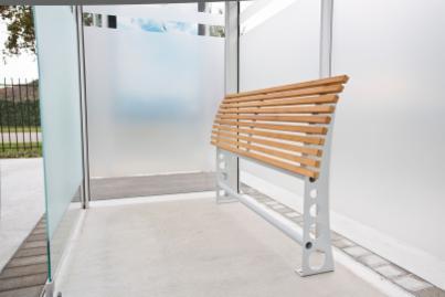 Sitzebänke / Anlehnstützen